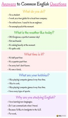 Phrases - Answers to Common English Questions