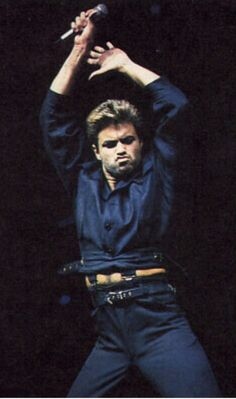 World dancing on your tunes George Michael the very best