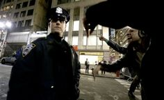"""Demonized and Betrayed: NYPD Officers Speak Out - Officers say the outcry has left them feeling betrayed and demonized by everyone from the president and the mayor to throngs of protesters who scream at them on the street.  """"Police officers feel like they are being thrown under the bus,"""" said Patrick Lynch, president of the police union."""