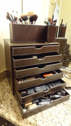 make up organizer!! Because my current make up storage is getting a little out of control.