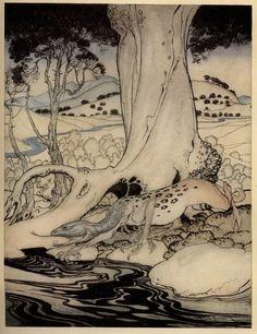 Arthur Rackham – The Romance of King Arthur is Alfred W. Pollard's version of Malory's Morte d'Arthur . ART & ARTISTS: Arthur Rackham – part 6 Arthur Rackham, Book Illustration, Fairy Tales, Beast, Fine Art, Abstract, Romance, Knights, Woods
