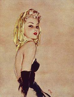 Golden Girl By David Wright