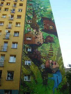 Mindblowing large scale street art by graffiti crew ETAM