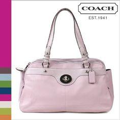 Coach Penelope Leather Satchel Lavender F16529