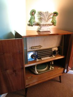 I have an old cabinet stereo/record player.
