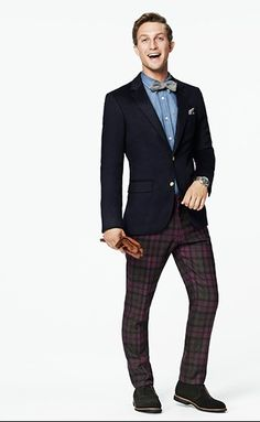 Here's a fun holiday look. Gents Fashion, Dope Fashion, Fasion, Daily Fashion, Classy Suits, Classy Dress, Dope Style, Men's Style, Carrie The Musical