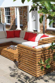 Venetian modular lounge furniture and Sunbrella cushions #OutdoorFurniture #OutdoorSofa  https://westminsteroutdoorliving.com/index.php/venetian-set-ex-display.html