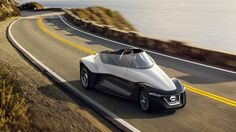 Nissan BladeGlider concept puts an electric wing on the road | Motoramic - Yahoo Autos