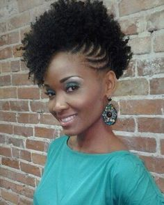 Natural Afro Hairstyle For Women Natural Braided Hairstyles, Natural Hair Braids, Natural Hair Styles, Short Hair Styles, Twisted Hairstyles, Stylish Hairstyles, Braided Updo, Protective Hairstyles, Natural Beauty