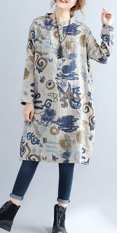 floral-pure-cotton-dress-casual-dress