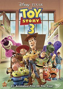 TOY STORY 3 WALT DISNEY PIXAR MOVIE DVD BACKER CARD    This is not a DVD.    --