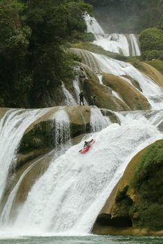 White water kayaking may now be counted as an official Olympic sport; Sensational White Water Kayaks Tips for Safe Kayaking Ideas. Kayak Camping, Canoe And Kayak, Kayak Fishing, River Kayak, White Water Kayak, Kayaking Tips, Whitewater Kayaking, Canoeing, Kayak Paddle