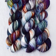 This colorway is a Babette: every skein and every batch is a bit different, but...