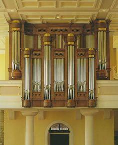 Orgelbau Claudius Winterhalter - Die Orgel Pfarrkirche unser lieben Frau 77855 Achern - OH yeah, this isn't French Romantic inspired...