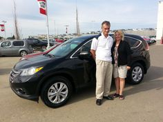 Congrats to Richard on the purchase of his new 2013 Honda CR-V EX-L!
