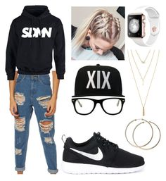 """""""Untitled #17"""" by neearuuska on Polyvore featuring Afends, NIKE, Jules Smith and Muse"""