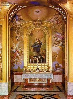 Oratorio del Palacio Real de Aranjuez.