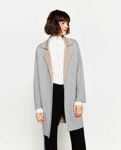 DOUBLE-SIDED COAT-Coats-OUTERWEAR-WOMAN | ZARA United States