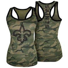 Women's New Orleans Saints Black Team Logo Crew Socks