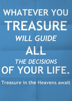 Treasures in the Heavens. Bobby Schuller http://www.hourofpower.org/messages/detail.php?contentid=7554