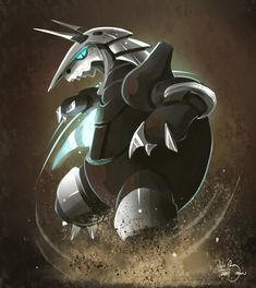Aggron-- fav steel type pokemon. Tough choice between Aggron and Metagross. I had to go with Aggron. The only way Aggron outweighs Metagross is when it has the ability Rock Head. Then, at a high level, Aggron dominates many fields of Pokemon