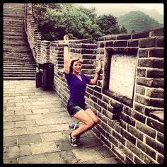 Bar Method is taking over the world y'all. Superstar student, Mariah even finds time on the Great Wall of China to get some thigh work in. Get it, girl!