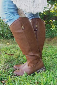Tan Riding Boot | UOIOnline.com: Women's Clothing Boutique