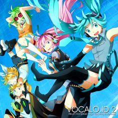 Vocaloid Hatsune Miku, Luka, Gumi, Rin and Len Kagamine