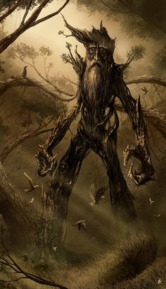 Treebeard the ent, love you Tolkien! Jrr Tolkien, Legolas, Gandalf, Fantasy Creatures, Mythical Creatures, Fantasy World, Fantasy Art, Lord Of Rings, The Lord Of The Rings