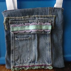 Purple Up-cycled purse by BeccasjamsandCrafts on Etsy