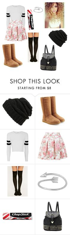 """Untitled #9"" by janeisy ❤ liked on Polyvore featuring Leith, UGG Australia, Glamorous, Miss Selfridge, Chapstick, women's clothing, women's fashion, women, female and woman"
