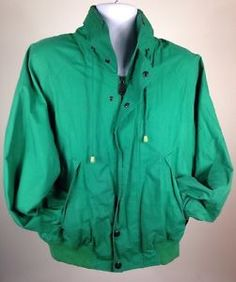 Vtg 90s Nautica J Class Spring Competition Jacket Mens Large | eBay