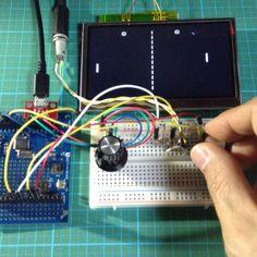 Arduino Pong #Arduino #Pong #retro #game #ゲーム #ビデオゲーム #アーケードゲーム #レトロゲーム #ポン #卓球ゲーム #テニスゲーム 1970年代のヒットゲームがArduinoで再現出来るという事でブレッドボードで試してみました 2人で対戦出来ます by mobi.electronik