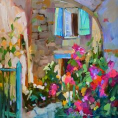 Step Inside, painting by artist Dreama Tolle Perry