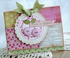 Cute, cute, cute!  Love the layout!