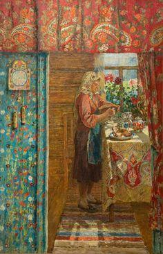 Мазитов Амир Нуриахметович [1928—1992] Ждём гостей. 1969