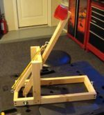 A project based on the Ogre Catapult. This catapult is a convenient size with some great improvements including a lock for the swing arm. Catapult Diy, Catapult For Kids, Science Fair, Science For Kids, Stem Skills, Wood Games, Light Crafts, Crafts For Boys, Craft Shop