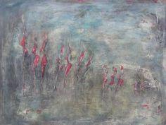 """Saatchi Art Artist Doris Duschelbauer; Painting, """"DIE LEICHTIGKEIT"""" #art"""