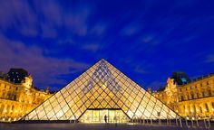 The Louvre museum, in Paris, was once a fortress, then a palace, before it housed one of the world's most beautiful art collections. (From: Photos: World's Most Beautiful Museums)