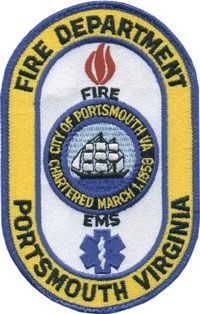 Portsmouth Fire, Rescue and Emergency Services Patch