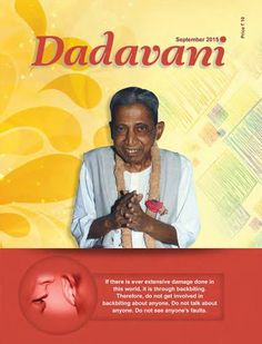 Dadavani Magazine September 2015