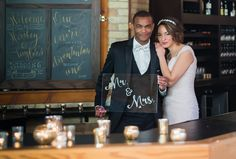 This article explores Milwaukee's hottest new wedding venues for 2015: The Garden, Rustic Manor, The Box and Onesto. Photo at Onesto by Reminisce Studio