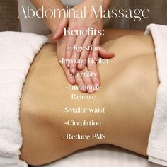 Benefits of Abdominal Massage