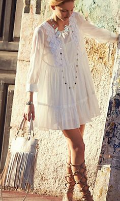 lovely #white tunic  http://rstyle.me/n/igrtvpdpe