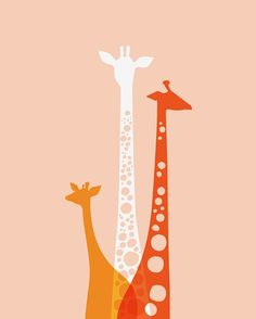 Print for our Chalk Board Frame    http://www.etsy.com/listing/128211189/giraffe-trio-16x20-giclee-print?ref=shop_home_active