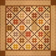 Sugar and Spice Quilt Kit - Free Pattern Download - Gail Kesslers Ladyfingers Sewing Studio - Fabric, Notions, Needles, Patterns and Sewing Class