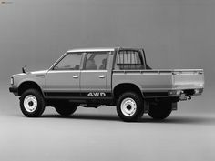 Datsun Pickup 4WD Double Cab JP-spec (720) 1980–85 photos (2048 x ...
