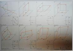 proiezioni della retta e del piano nel diedro
