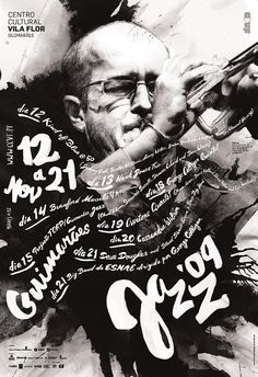 Poster: Expressive music, expressive typography.