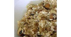 Risotto mit Champignons, ein Rezept der Kategorie sonstige Hauptgerichte. Mehr Thermomix ® Rezepte auf www.rezeptwelt.de